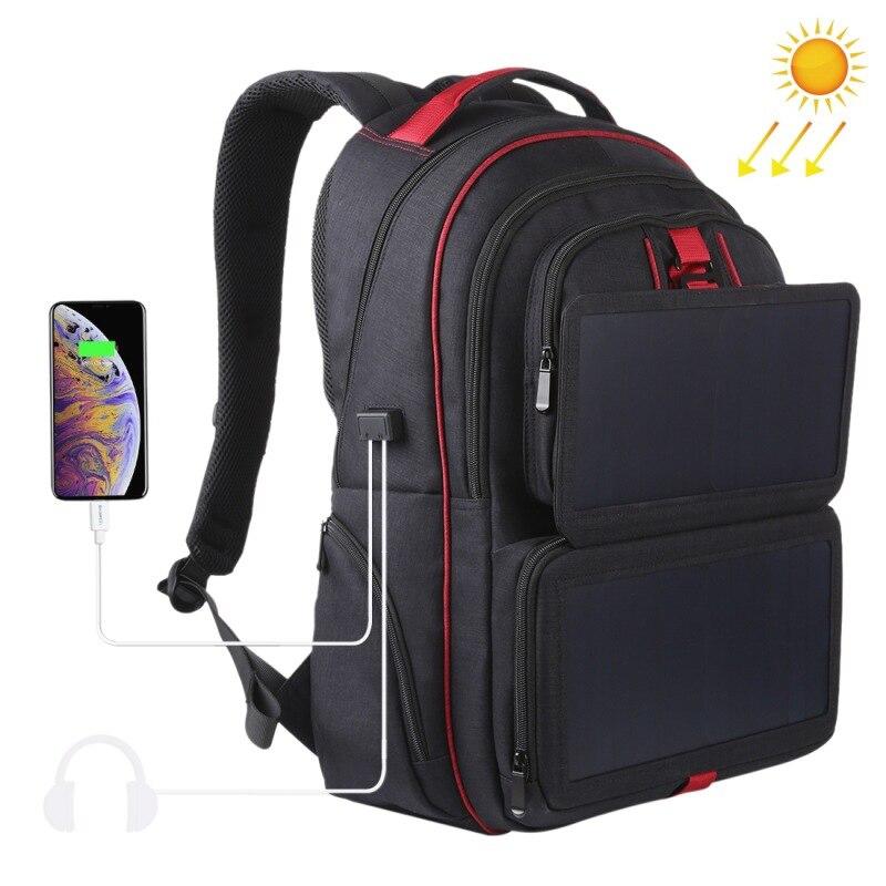 Новые сумки рюкзак для ноутбука сумки на плечо с 14 Вт Солнечная батарея с usb разъемом зарядное устройство для мобильных телефонов планшеты