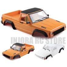 RC автомобиль жесткий пластик 313 мм Колесная база пикап Cherokee Корпус Комплект для 1/10 RC Рок Гусеничный осевой SCX10 и SCX10 II 90046 90047