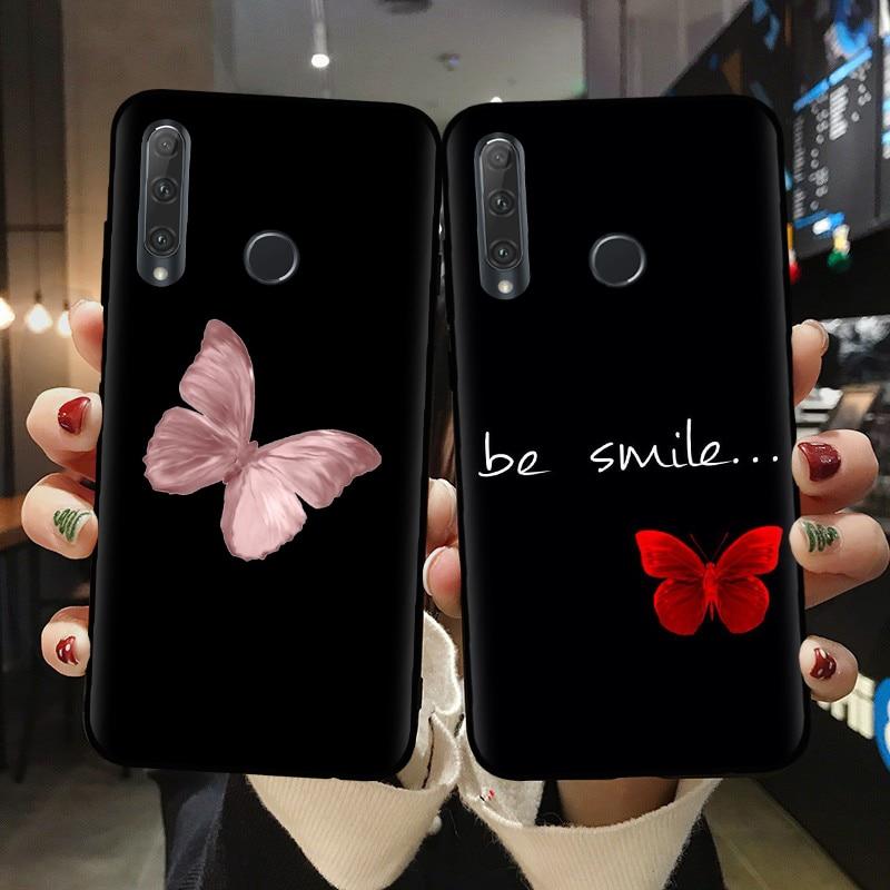 Мягкий силиконовый чехол-накладка для Huawei Honor 10 20 Lite Pro 10i 20i 8X 8C 9X, чехлы для телефонов Huawei P30 Lite, чехол-бабочка