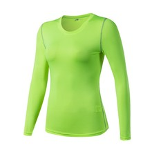 2019 Women Wicking Breathable Long Sleeve Loose Yoga Running Workout Activewear Comfort T-shirt Top недорого
