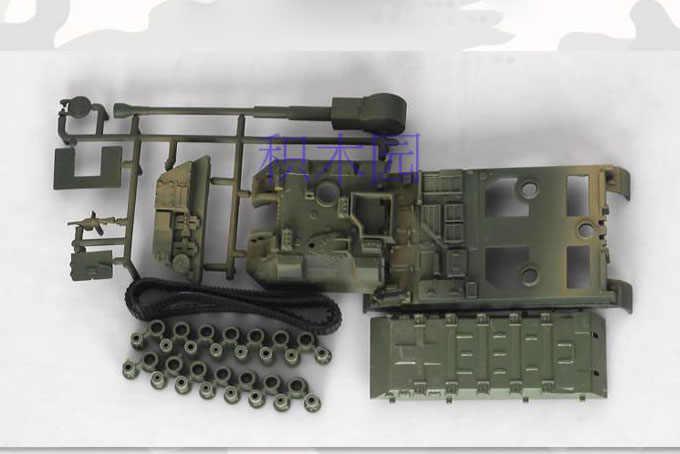 1 stücke 1:72 4D Kunststoff Montieren Tank Kits Weltkrieg II Modell Puzzle Montage Military Sand Tisch Spielzeug Für Kinder