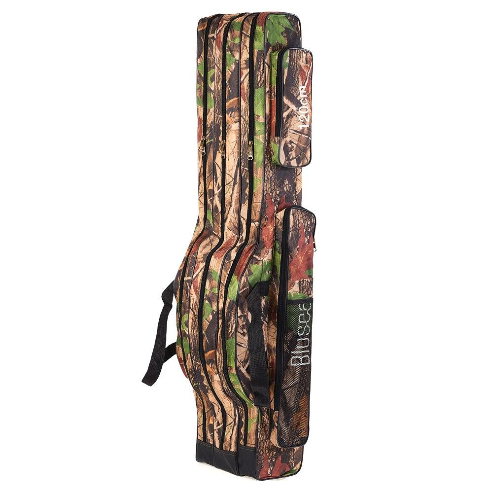 Sac Portable de Transport pour Canne à pêche sacs à sangle d'épaule 120-160 cm