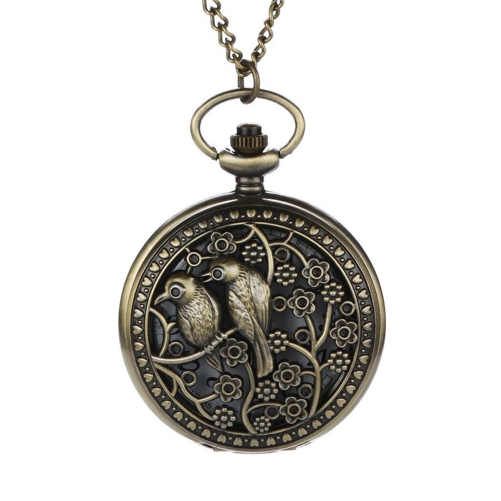 Pocket Watch Personalized Pattern Steampunk Vintage Quartz Roman Numerals карманные часы Orologi Da Taschino Relogio De Bolso