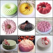 Meibum – moule à gâteau en spirale, guirlande Multiple, en Silicone, fête, Dessert, décoration, Mousse, cuisson, cuisine, pâtisserie