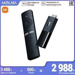 Многофункциональный медиаплеер XIAOMI Mi TV Stick EU 1080P Android TV 9.0 HD Объёмный звук Dolby и DTS 1 Гб RAM 8 Гб ROM