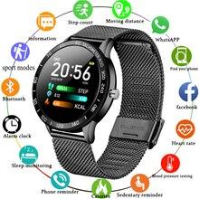 LIGE Men Smart Watch Blood Pressure Heart Rate Monitor Fitne