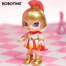 Robotime Blind Box Europe Girl Action Unboxing Toys Figure Model Dolls Exotic special Gift for Children,Kids,Adult(China)