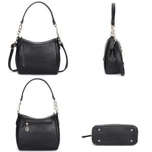 Image 5 - Crossbody Bags For Women Soft Leather Handbags Vintage Women Shoulder Messenger Bags Designer Sac Top handle Bag Bolsas Feminina
