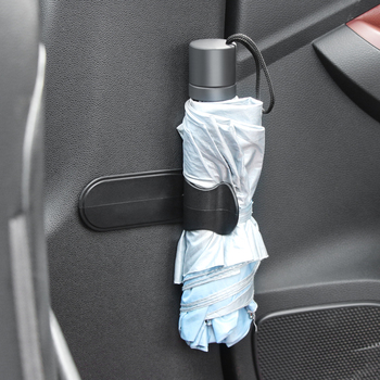 Multifunction Hook Car Umbrella Hook Clip for Mercedes Benz AMG W203 W204 W205 W211 W212 C117 W176 CLA X253 S205 tanie i dobre opinie Z tworzywa sztucznego Self-adhesive Waterproof Umbrella Cover hook up Multifunction Hook Hanger Car Seat Clip Fastener Rack