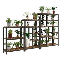 Taman Pot Rak untuk Suporte Flores Terraza Mueble untuk Plantas Outdoor Berdiri Stojak Na Kwiaty Balkon Tanaman Bunga Rak