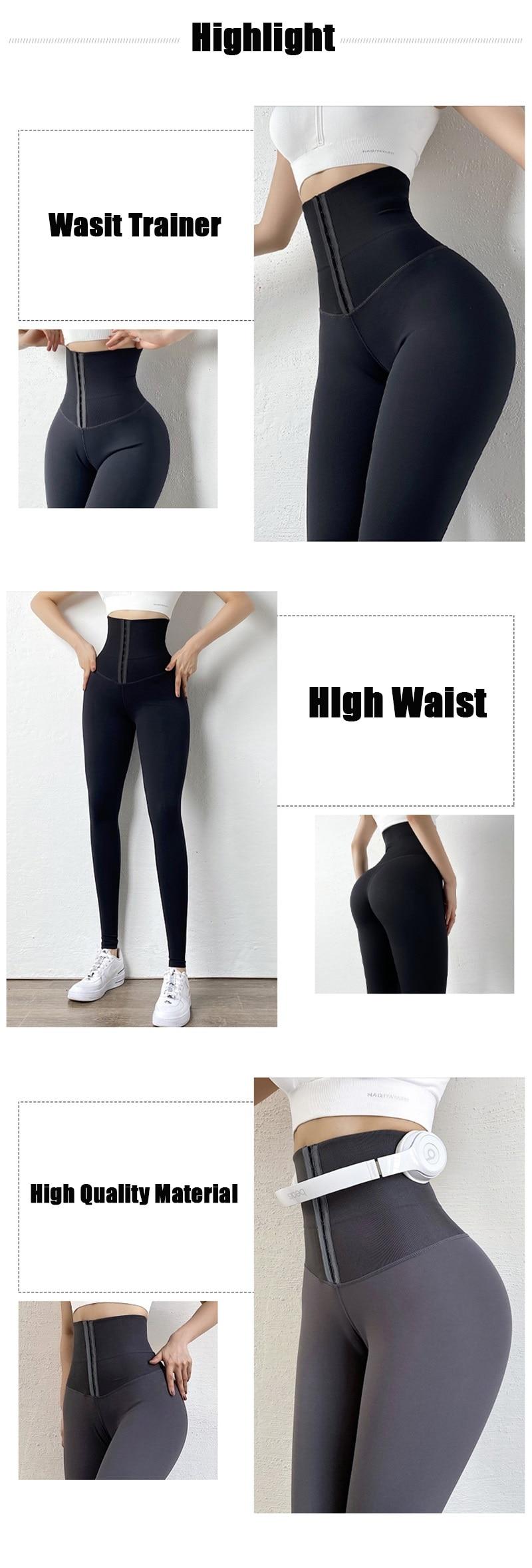 High Waist Tummy Control Leggings