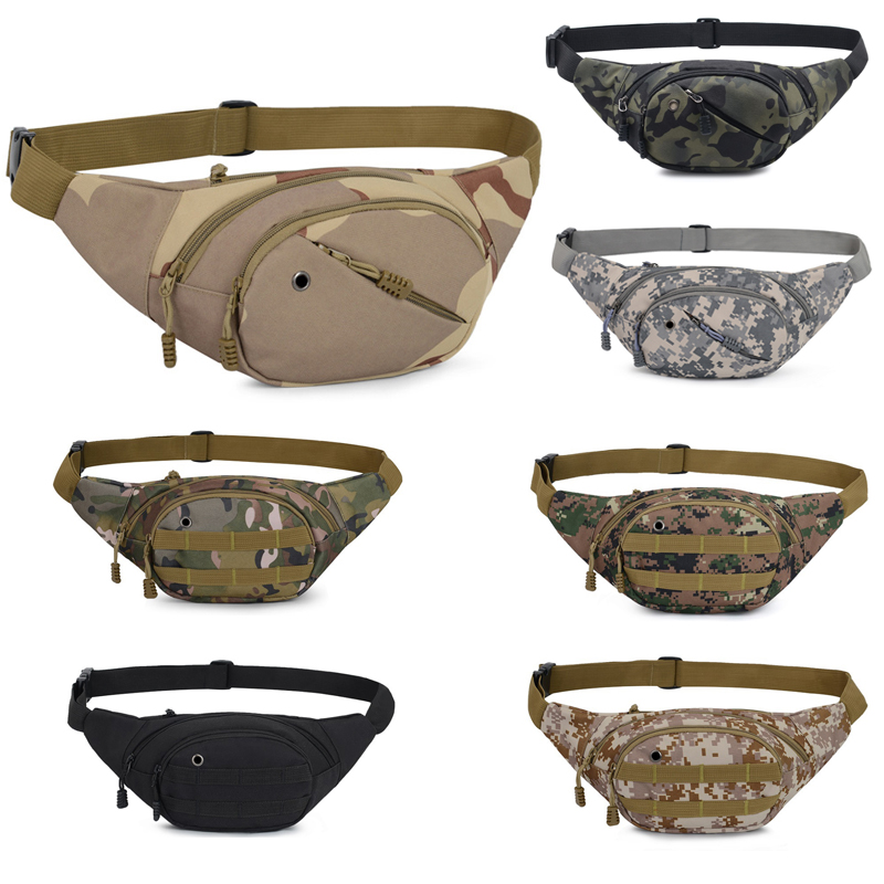 Men Waist Funny-Pack Kidney Belt-Bag Camouflage Running Cycling Outdoor Sport Unisex Bum Bag Pouch Sac Banane Saszetka Na Biodra