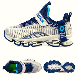 Dzieci nowe modne netto oddychające rekreacyjne ostrze sportowe buty do biegania dla dziewczynek buty dla chłopców buty dziecięce marki