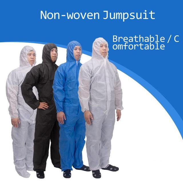 Disposable Protective Suit Ppe Suit Chemical Protection Work Clothes Protective Clothing Special Clothes Coverall 1