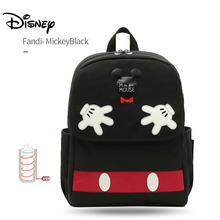 Disney Mickey Usb Baby Diaper Bag Backpack Maternity Baby Bags for Mom Multifunctional Stroller Bag Large Capacity for Mommy Bag mommy diaper bags stripes new shoulder top multifunctional backpack maternity large capacity baby waterproof package