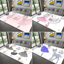 Свитера с изображением балерины для девочек 3D принт коврик ребенку Спальня игровой коврик из мягкой фланели пены памяти средства ухода за к...