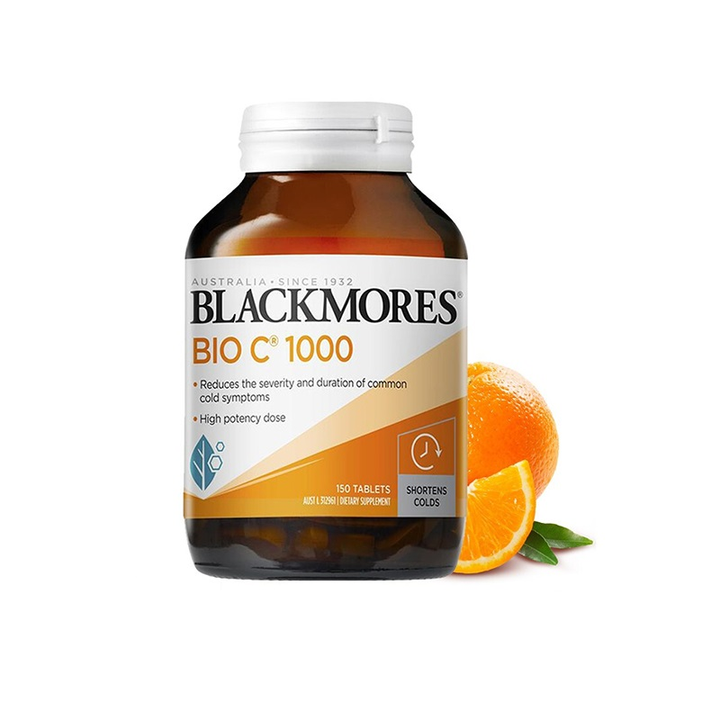 Blackmores Vitamin C 1000mg Tablets Vitamins for Men Women Immunity Health and Wellness Products Beauty VC Pills Supplements