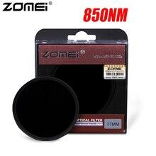 850NM ZOMEI инфракрасный X RAY на замену фильтра IR Инфракрасный зеркало для Защитная крышка для объектива цифрового однообъективного зеркального зеркало серебристого цвета с ободком, 43/46/ 49/52/55/58/62/67/72/77 мм