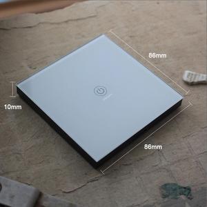 Image 5 - KTNNKG 86 벽 터치 원격 제어 무선 RF 송신기 강화 유리 패널 + 램프 빛에 대 한 LED 433MHz EV1527 칩