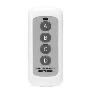 Image 2 - Interruptor de luz de Control remoto de 4 canales, 433MHz, transmisor de código de aprendizaje 1527, llave Fob inalámbrica para abridor de puerta de garaje H4