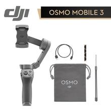 DJI Osmo Mobile 3 Combo Ручной Стабилизатор складной портативный шарнирный держатель для смартфонов управление жестами 3-осевой