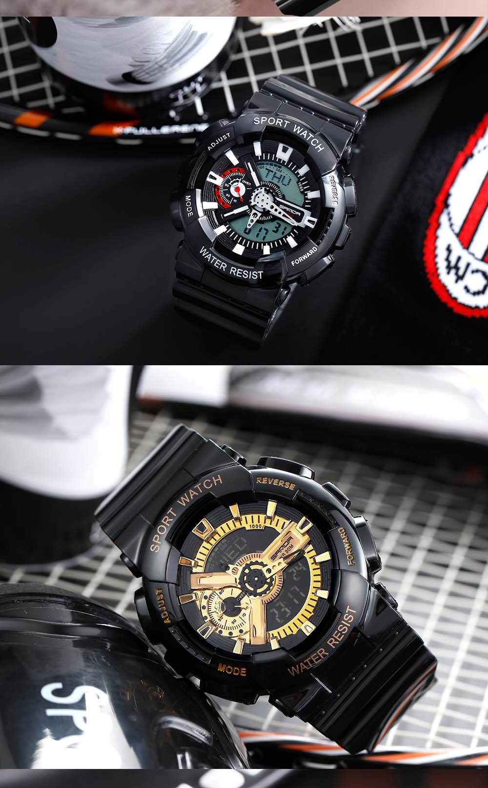 H566da4babf234b719a6136bff16f9108e 2020 SANDA Military Men's Watch Brand Luxury Waterproof Sport Wristwatch Fashion Quartz Clock Couple Watch relogio masculino