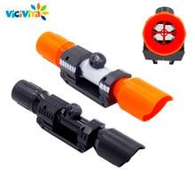 Compatível modificado parte do dispositivo de avistamento tubo dianteiro para nerf elite série apto para crianças brinquedo arma