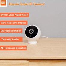 Xiaomi Mijia 1296P 180 Degree Smart IP Camera 2K AI Human Detection IR Infrared Night Vision Two-Way Voice Monitor NEW
