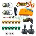 2222 dans 1 kit d'arcade de jamma 2 kit complet de pièces de machine d'arcade de joueur avec des boutons de LED d'arcade/joystick pour la boîte de pandora 9D