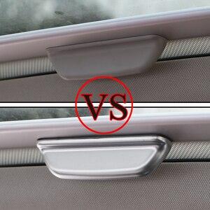 Image 2 - Zeratul Auto ABS Innen Sonne Dach Türgriff Schutz Abdeckung Trim Aufkleber für Volkswagen VW Golf 7 7,5 MK7 MK 7,5 2013   2019