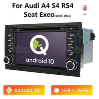 IPS 7'' Android 10 4 Core CAR GPS For Audi A4 B6/B7 S4 B6/B7 RS4 Seat Exeo 2008 2012 Radio Multimedia stereo player BT WIFI