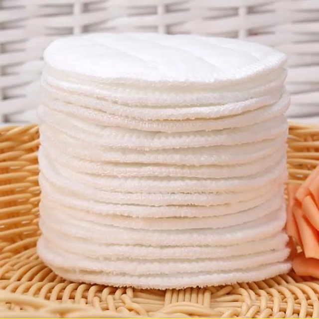 Reusable Cotton Pads Washable Makeup Remover Pad Soft Face Skin Cleaner Facial Cleaning Women Beauty Makeup Tool 4