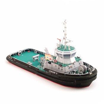 1:100 Polish Centaur II Tugboat DIY 3D Paper Card Model Building Sets Construction Toys Educational Toys Military Model 1