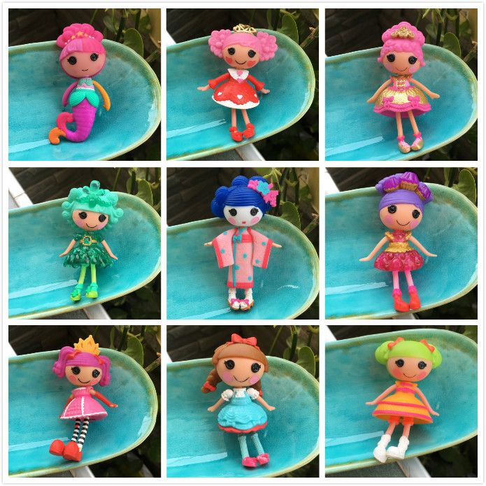 7cm New Lalaloopsy Mini Lala Oopsie Princess Doll Figure Dolls For Girls Kids Toys Decoration Children Gifts