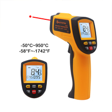 مقياس الحرارة الرقمي الأشعة تحت الحمراء الأشعة تحت الحمراء GM900 KT400Y عدم الاتصال مقياس الحرارة الإلكترونية نقطة بندقية