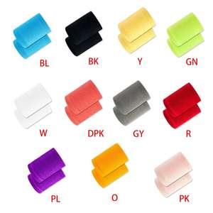 Colorful Wrist Guard Sport Braces Combed Cotton Towel Terry Sweatproof Wristband