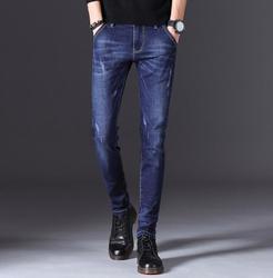 Стрейчевые стильные удобные мягкие джинсы высокого качества для мужчин, повседневные джинсовые брюки, Лидер продаж 2020