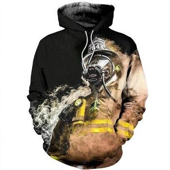 Tessffel Firefighters Suit Firemen superhero Harajuku Tracksuit NewFashion 3DPrint Zipper/Hoodies/Sweatshirt/Jacket/Men/Women 14 1