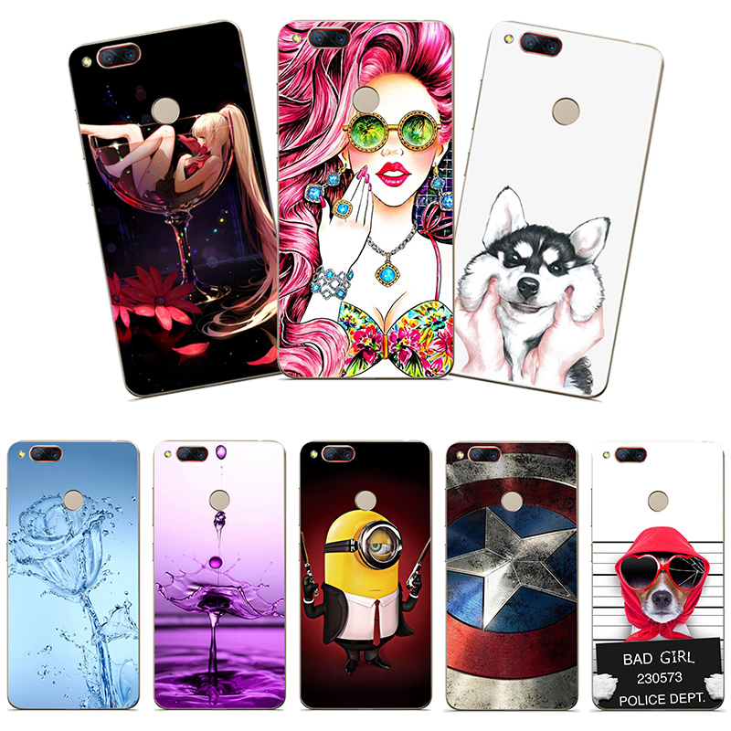 Soft Silicone Phone <font><b>Case</b></font> For ZTE <font><b>Nubia</b></font> <font><b>Z17</b></font> <font><b>Mini</b></font> Printing Rose Flower Animal Cute Cartoon Prattered back <font><b>case</b></font> for ZTE Z 17 <font><b>Mini</b></font> image