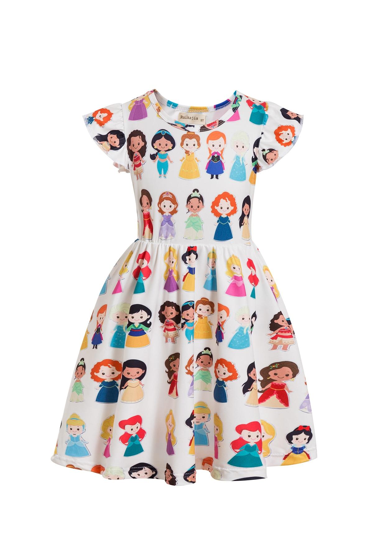 Girls Princess Tangled Rapunzel Lace Up Dress Costume