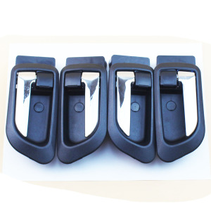LARBLL Black Interior Door Handles Inner Inside Door Armest for GREAT WALL HOVER H5 HAVAL H3 H5 GWM X200(China)