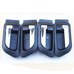 LARBLL Black Interior Door Handles Inner Inside Door Armest for GREAT WALL HOVER H5 HAVAL H3 H5 GWM X200(China)