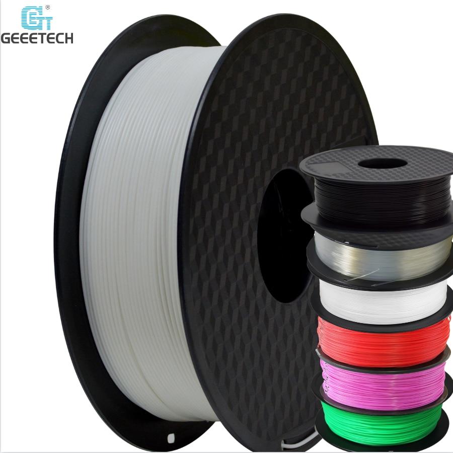 PLA Filament For 3D Printer 1KG  1.75mm Filament Prusa Reprap 3D Printer Drucker -Cz Warehouse