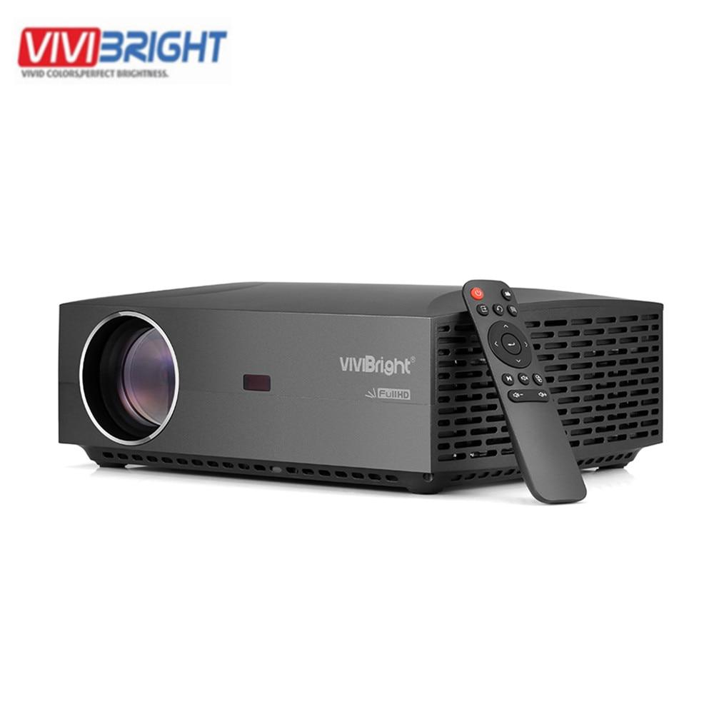 Projecteur LCD VIVIBRIGHT F30UP Android divertissement à domicile Commercial FHD 1920x1080 P 4200 Lumens Bluetooth 4.0 projecteur LCD