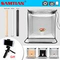 SAMTIAN светильник 40 см портативный софтбокс фотостудия светильник коробка с 3 цветами фон для ювелирных изделий игрушки фотографии комнаты па...