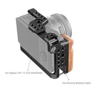Image 3 - SmallRig FP Khung Máy Ảnh dành cho ỐNG KÍNH SIGMA FP Camera Giày Lạnh Mount & Arri Định Vị Lỗ FR Sáng Micro TỰ LÀM Tùy Chọn 2518