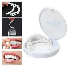 Upper & Lower Teeth Veneers Anti-true Braces Snap On Smil e Teeth