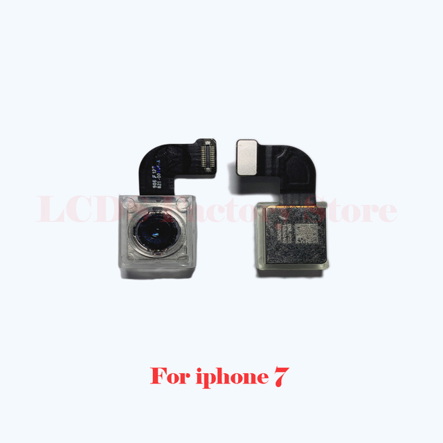 Original Camera For iphone 4S 5S 6 6s 7 8 Plus Back Camera Rear Main Lens Flex Cable Camera For iphone X XR XS MAX 11 PRO Camera 3