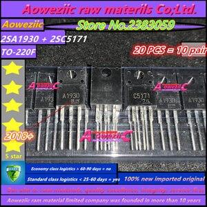 Image 1 - Aoweziic 2018 + 100% новый импортный оригинал 2SA1930 2SC5171 A1930 C5171 TO 220, силовой усилитель труба