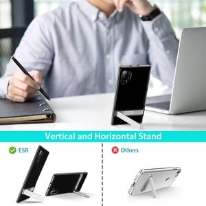 Image 3 - ESR Metall Ständer Fall für Samsung Galaxy Note 10 S10 e Plus Abdeckung Stoßfest TPU Business Telefon Fall für Samsung note10 + 5G